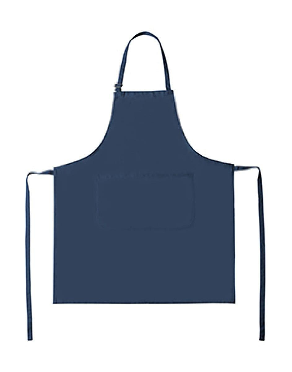 Bistro By Jassz Lisbon Cotton Bib Apron in Royal Blue (Product Code: JG20)
