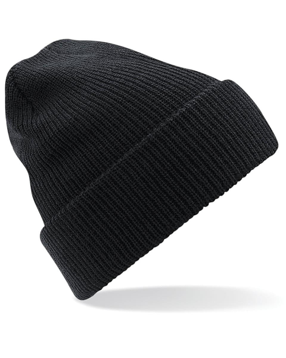 Beechfield Heritage Beanie Hat in Black (Product Code: B425)