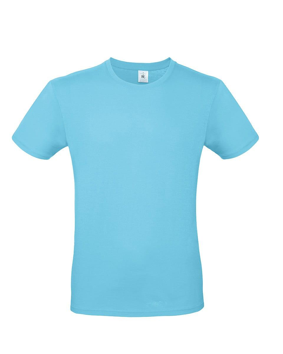 B&C Mens E150 T-Shirt in Turquoise (Product Code: TU01T)