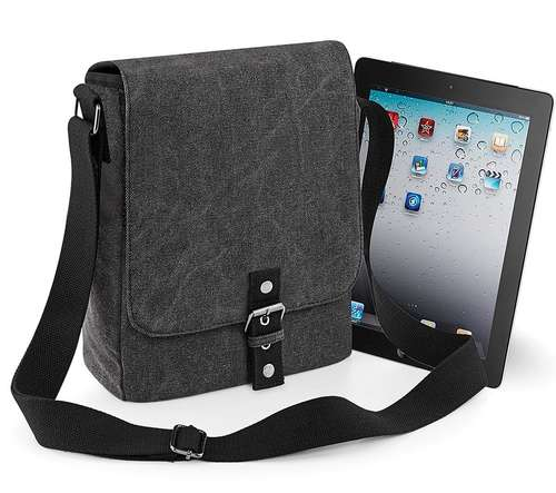 Quadra Vintage Canvas iPad / Tablet Reporter