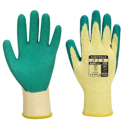 Portwest Classic Grip Gloves - Latex