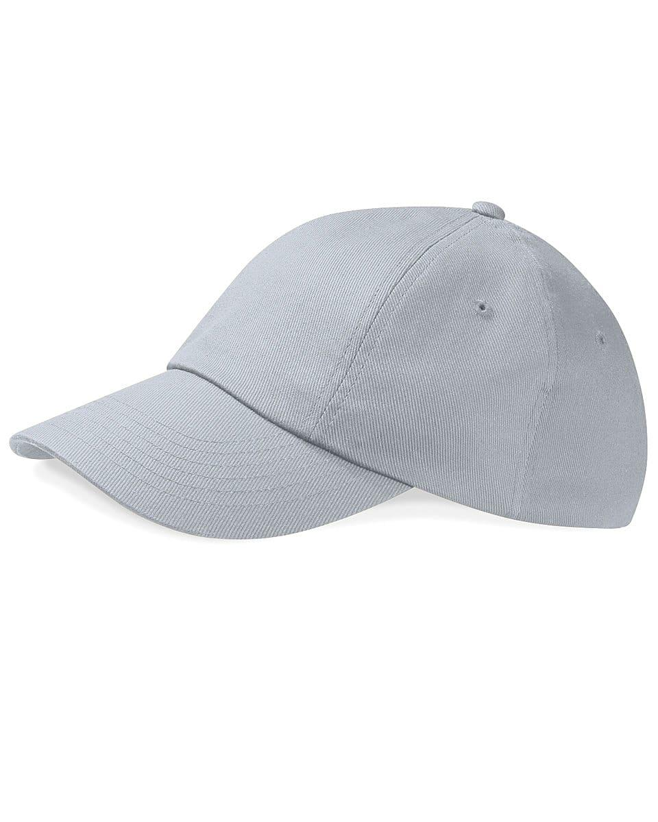 Beechfield Low Profile Heavy Drill Cap in Light Grey (Product Code: B58)