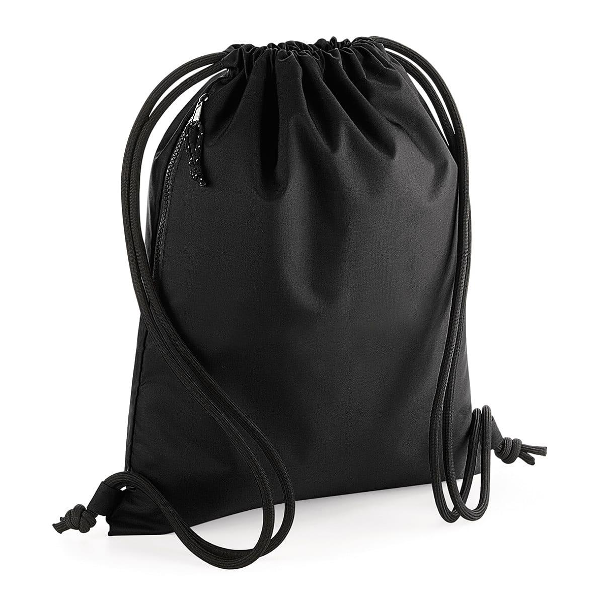 Bagbase Recycled Gymsac in Black (Product Code: BG281)