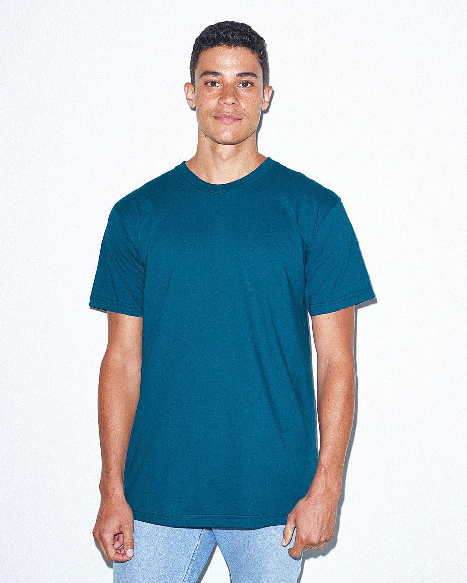 American Apparel Unisex Organic T-Shirt in Galaxy (Product Code: 2001ORGW)