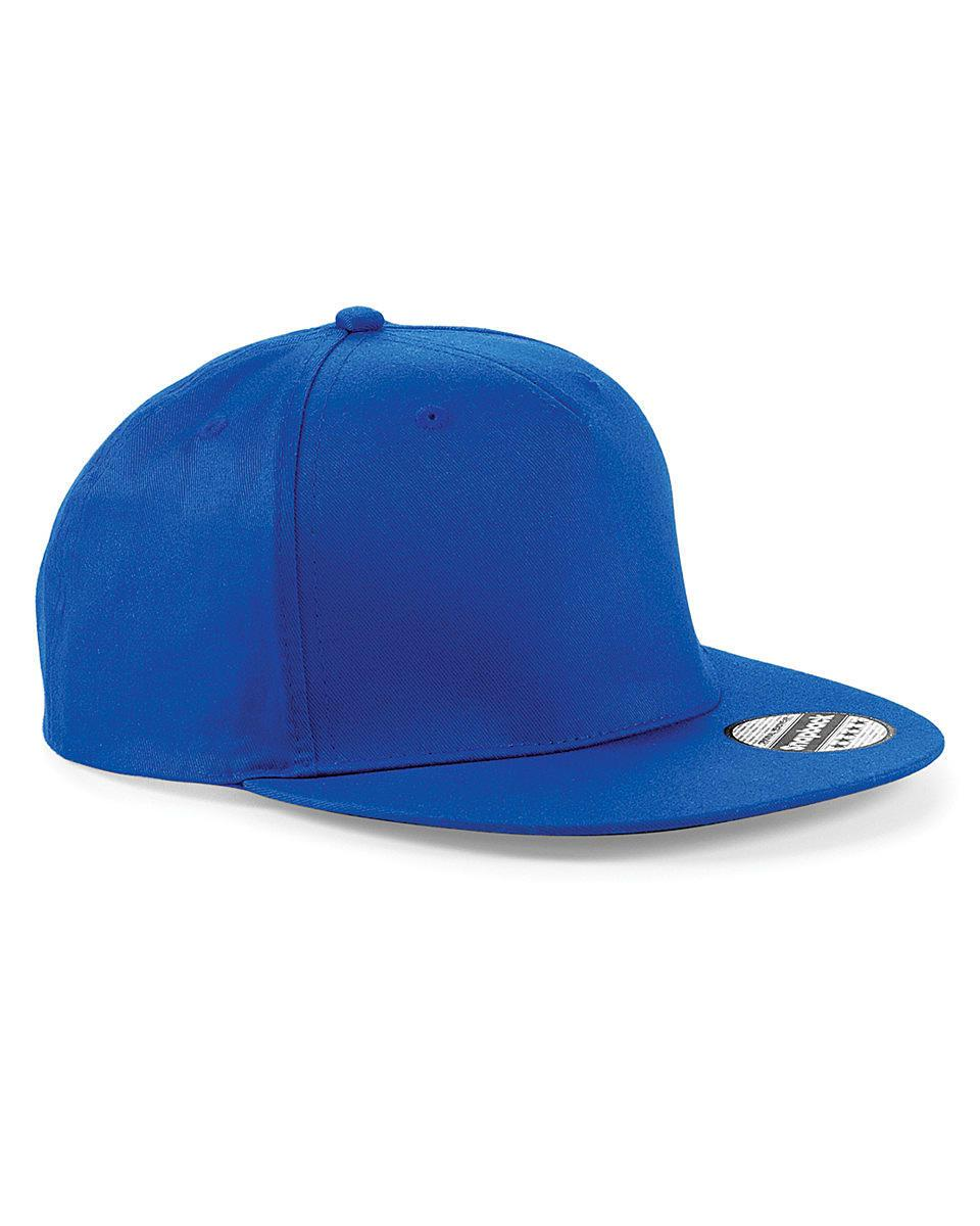 Beechfield Snapback Rapper Cap in Bright Royal (Product Code: B610)