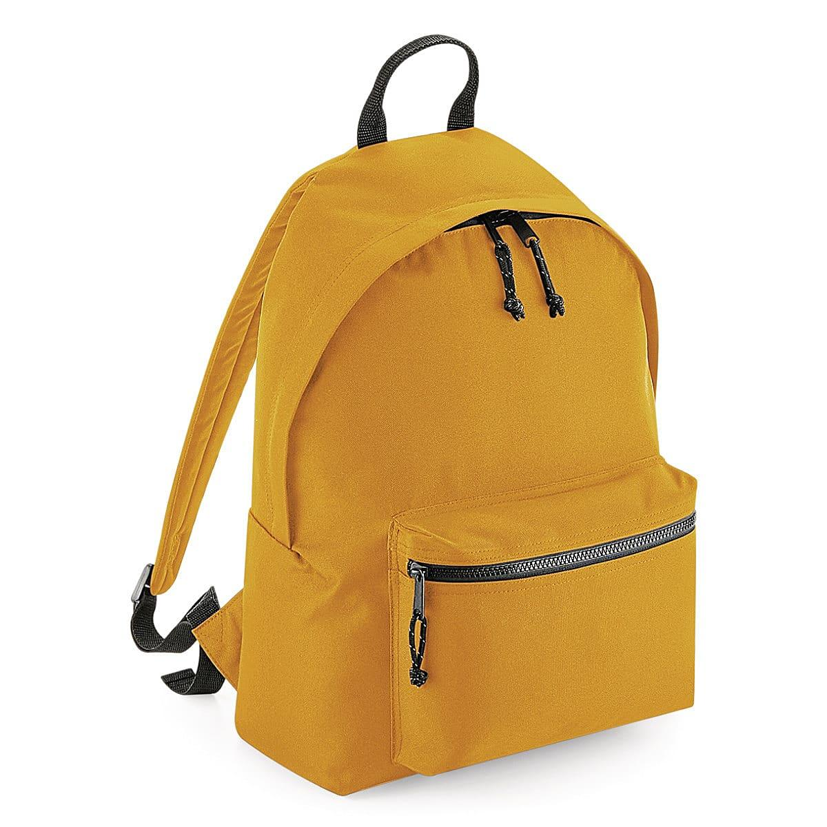 Bagbase Recycled Backpack in Mustard (Product Code: BG285)