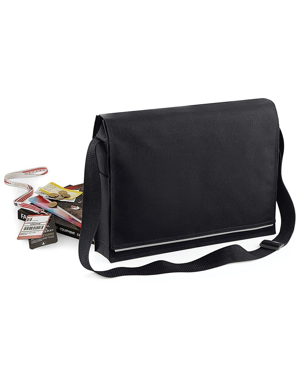 Bagbase Conference Messenger in Black (Product Code: BG331)