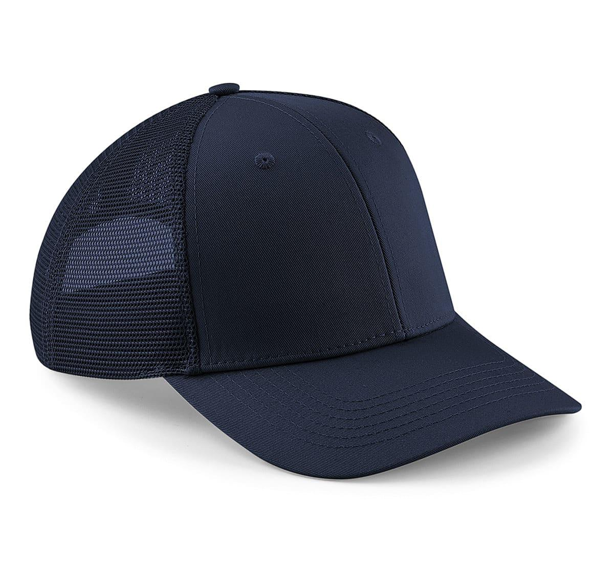 Beechfield Urbanwear Trucker Cap in Navy Blue (Product Code: B646)