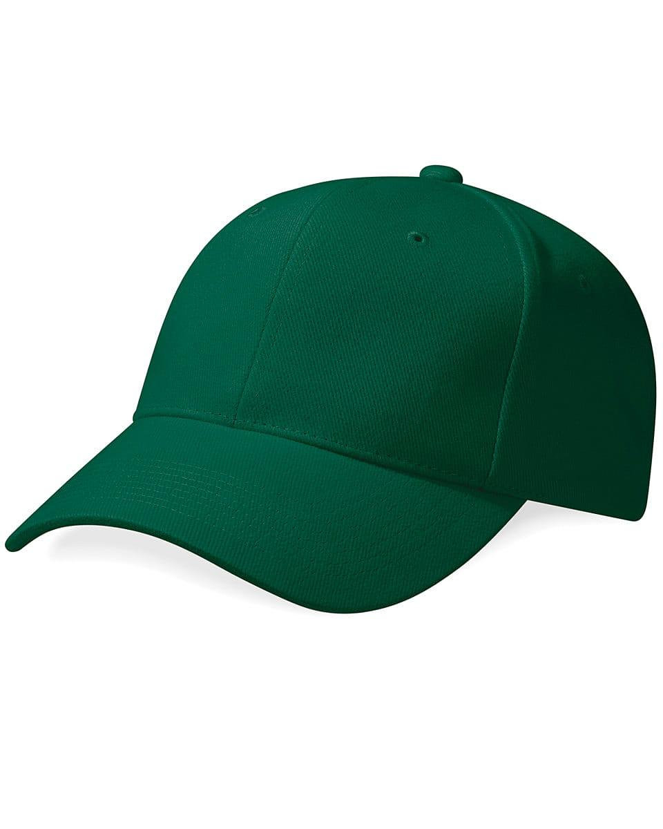 Beechfield Pro Style Heavy Cap in Forest Green (Product Code: B65)