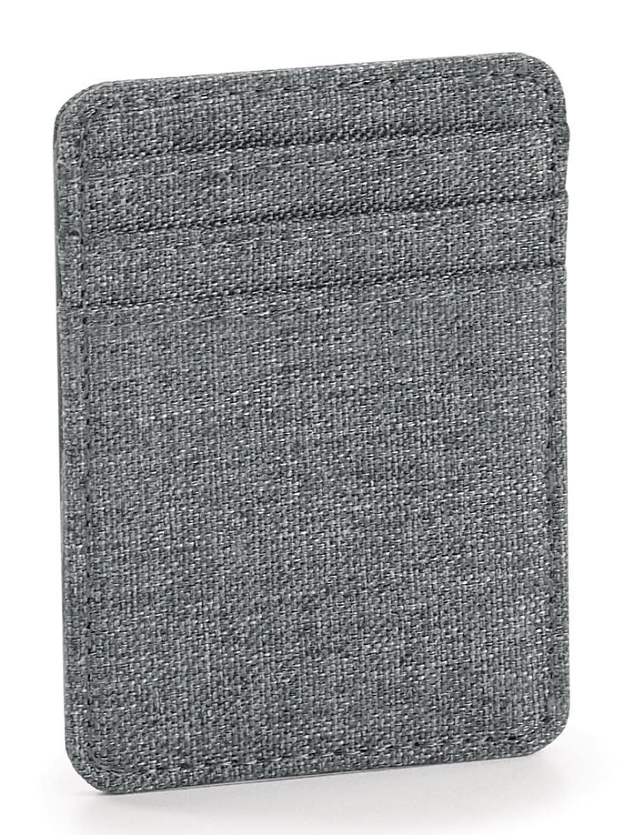 Bagbase Bagsbase Essential Card Slip in Grey Marl (Product Code: BG59)