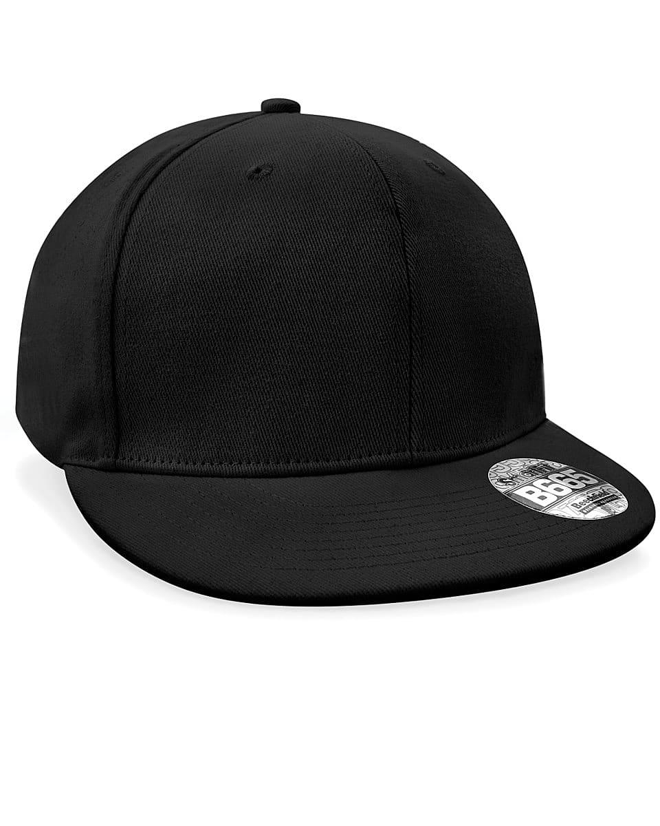 Beechfield Rapper Cap in Black (Product Code: B665)