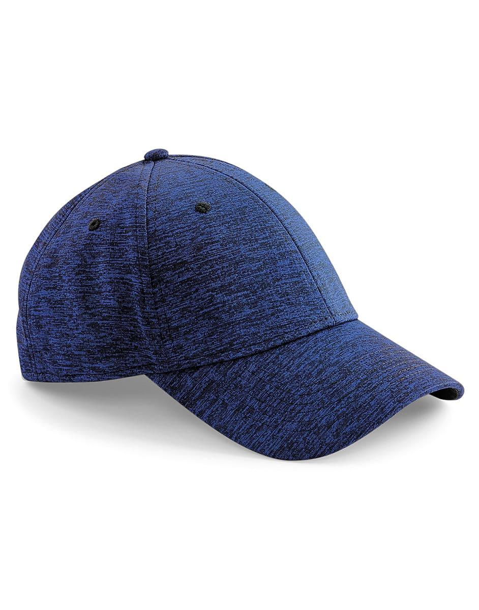 Beechfield Spacer Marl Stretch Fit Cap in Spacer Royal (Product Code: B676)