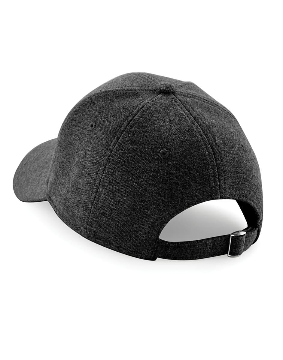 Beechfield Jersey Athleisure Cap in Heather Graphite (Product Code: B677)
