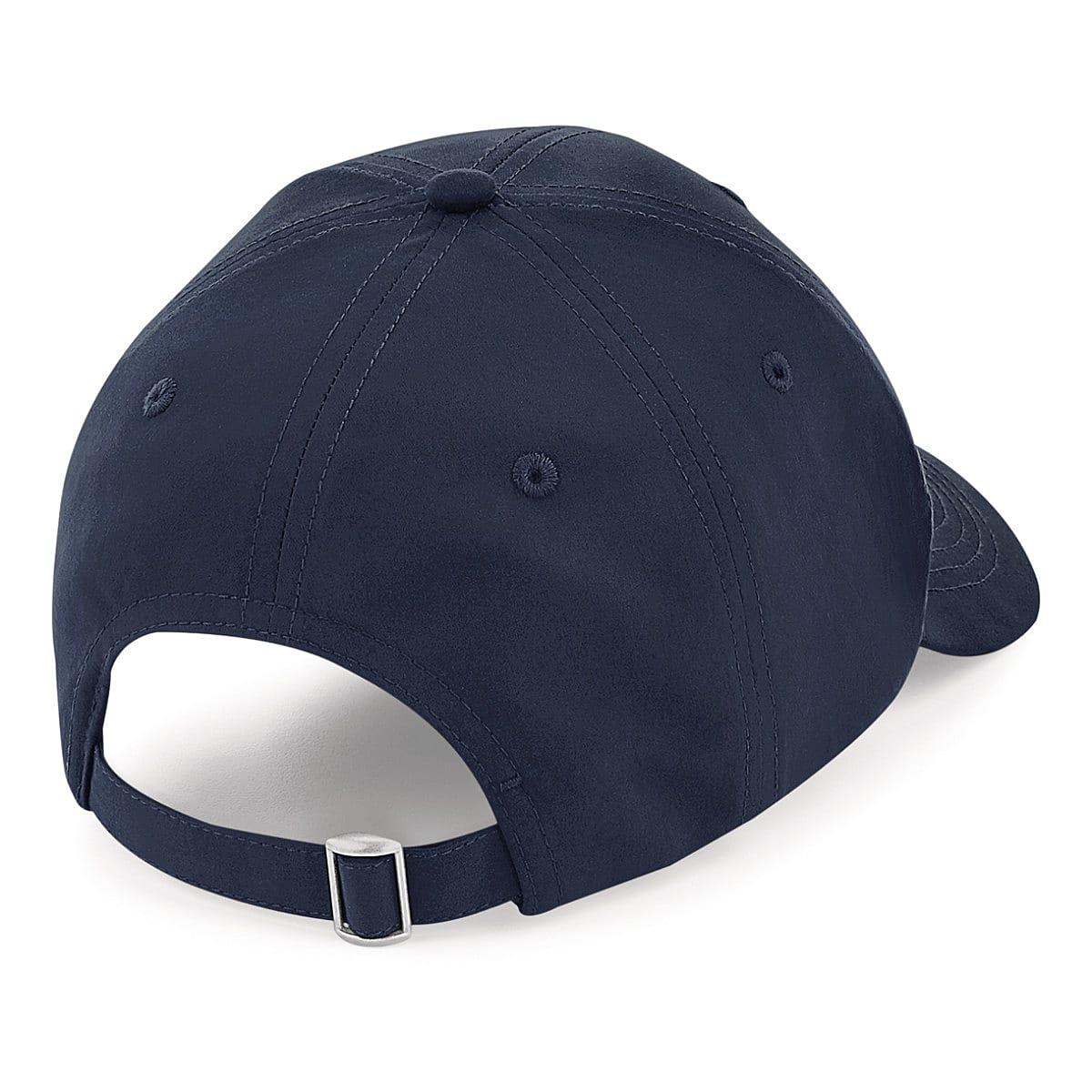 Beechfield Recycled Pro-Style Cap in French Navy (Product Code: B70)