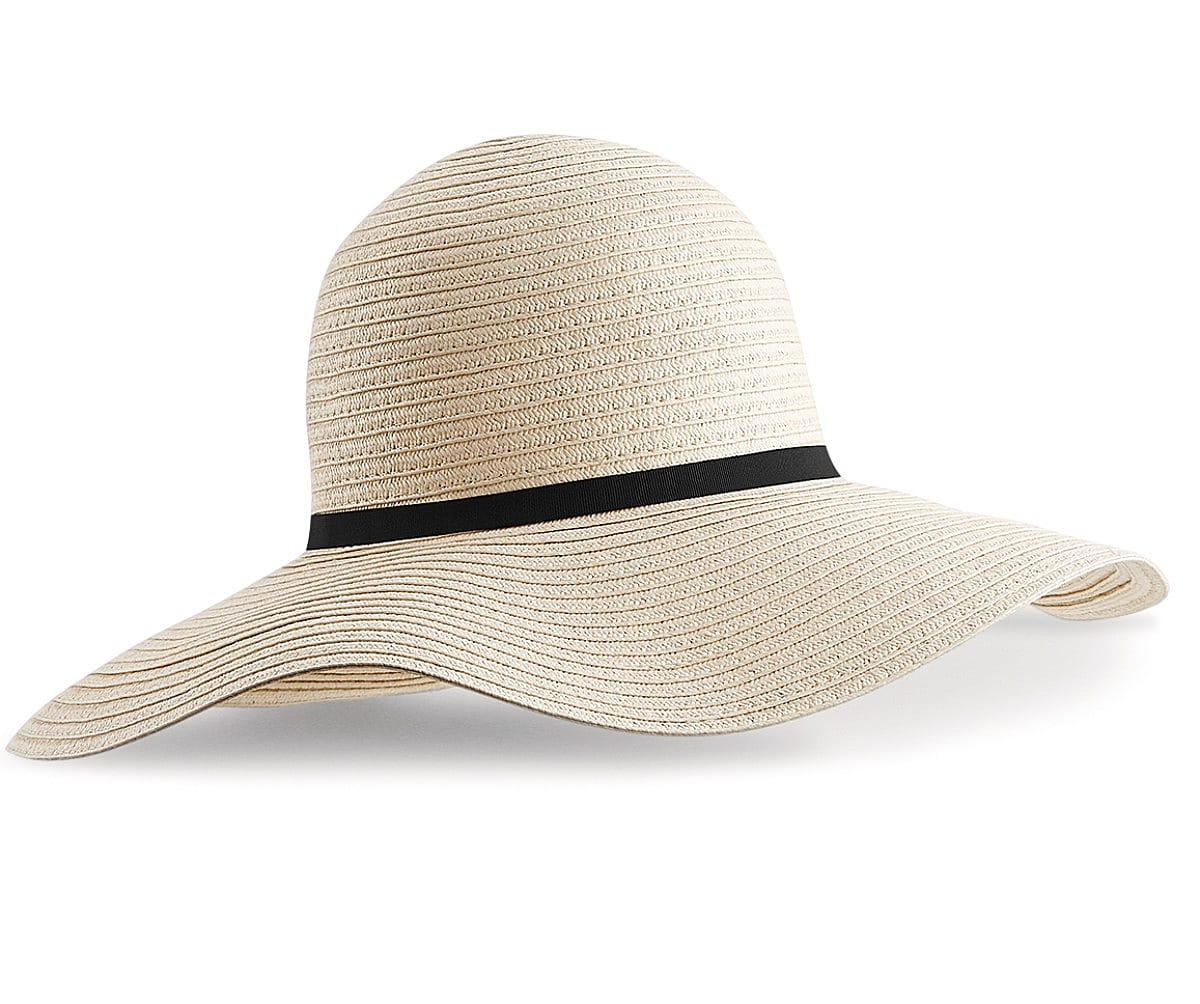 Beechfield Marbella Sun Hat in Natural (Product Code: B740)