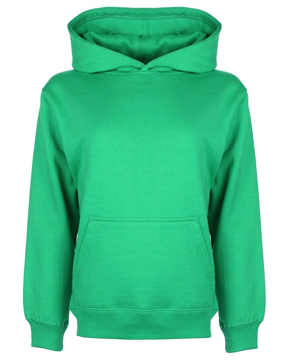 FDM Junior Hoodie in Kelly Green (Product Code: FH004)