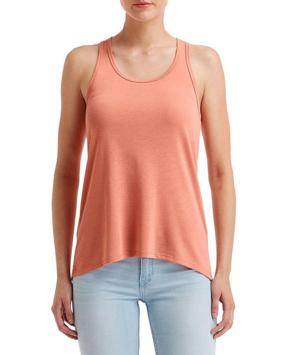 Anvil Womens Freedom Tank in Terracotta (Product Code: 32PVL)