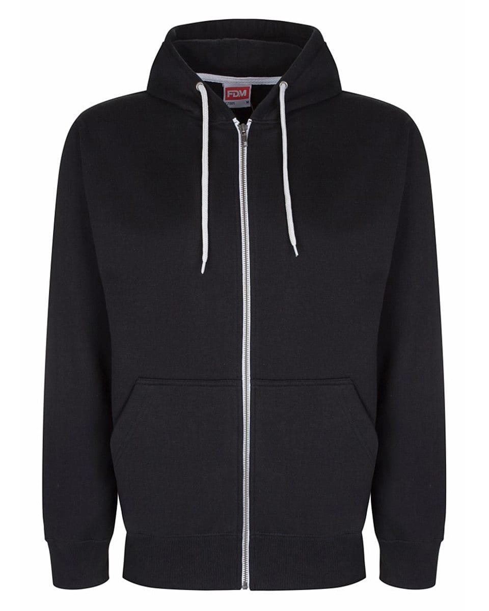 FDM Team Zip Hoodie in Black (Product Code: TZ001)