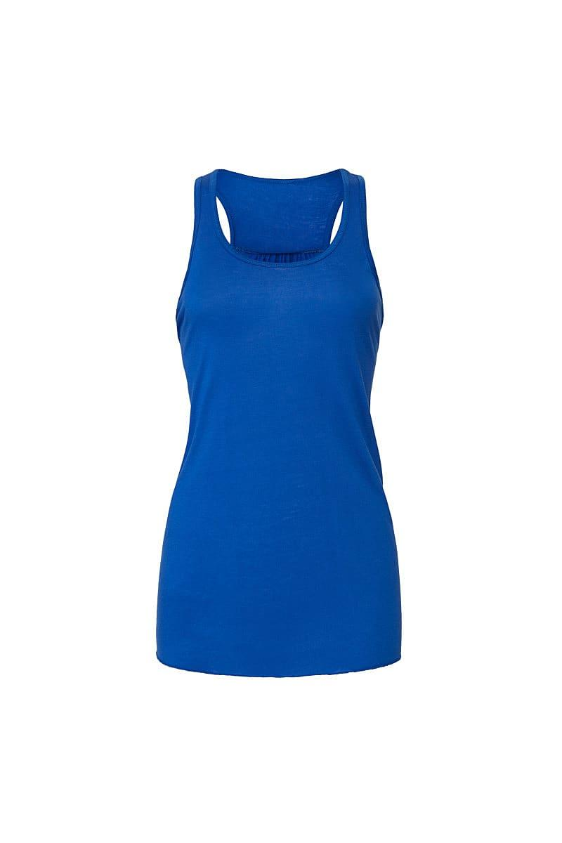 Bella Flowy Racerback Tank Top in True Royal (Product Code: BE8800)