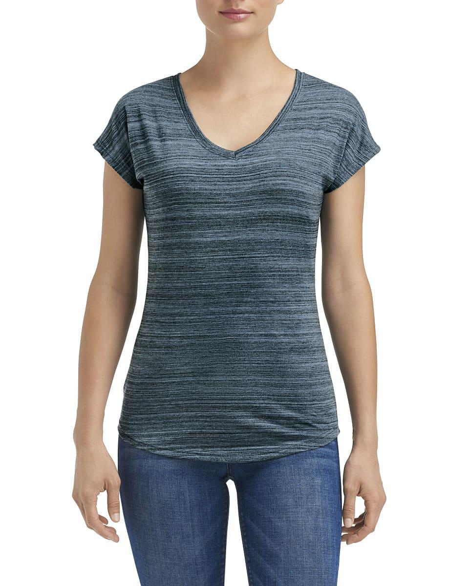 Anvil Womens Streak T-Shirt in ID Orion (Product Code: 675VIDL)