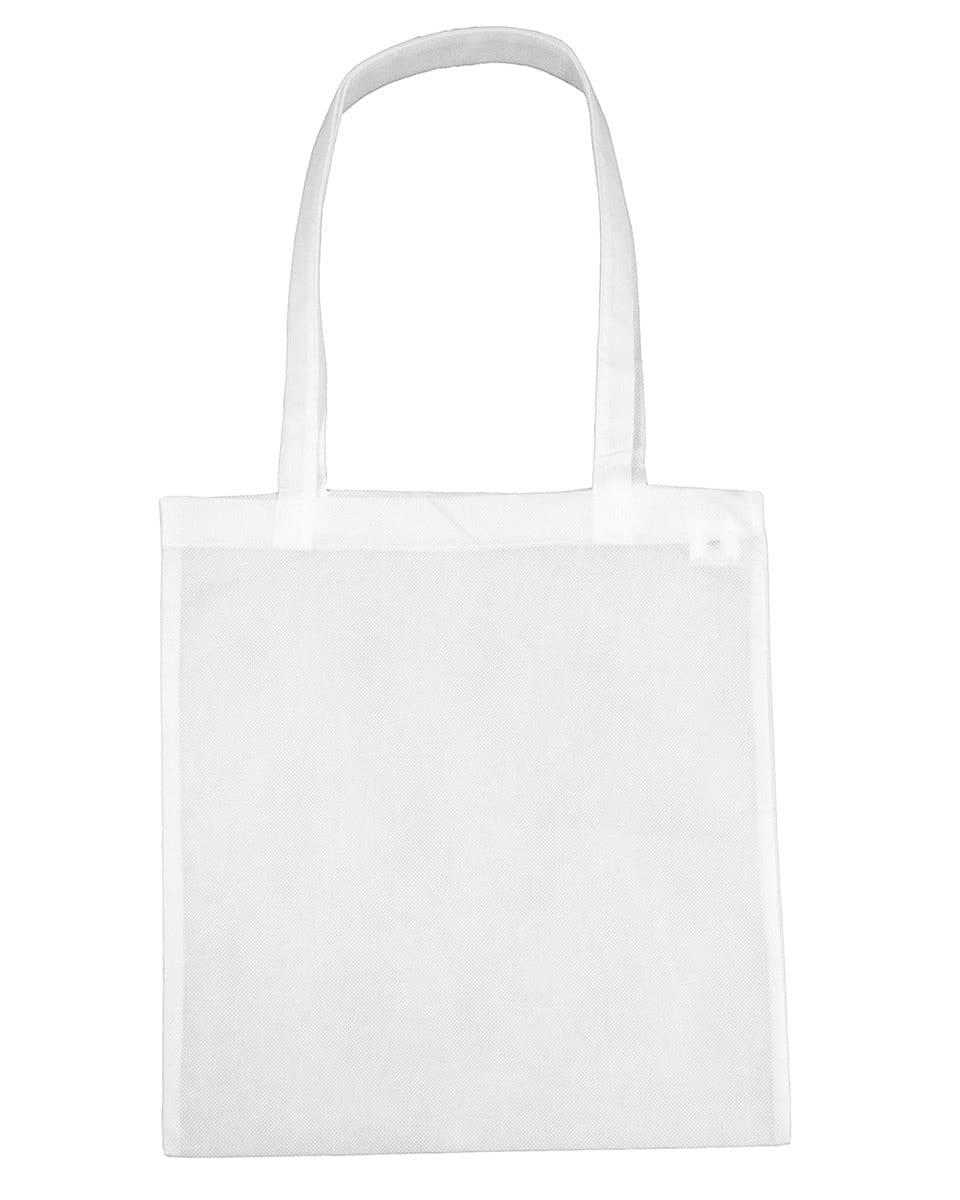 Jassz Bags Willow Basic Long-Handle Shopper in Snow White (Product Code: PP3842LH)