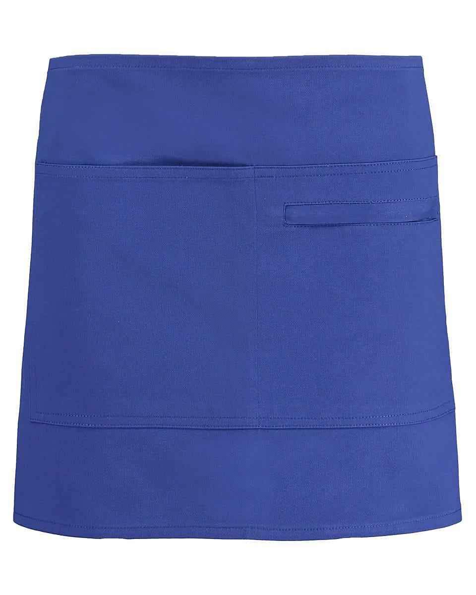 Bargear Unisex Short Bar Apron in Royal Blue (Product Code: KK513)