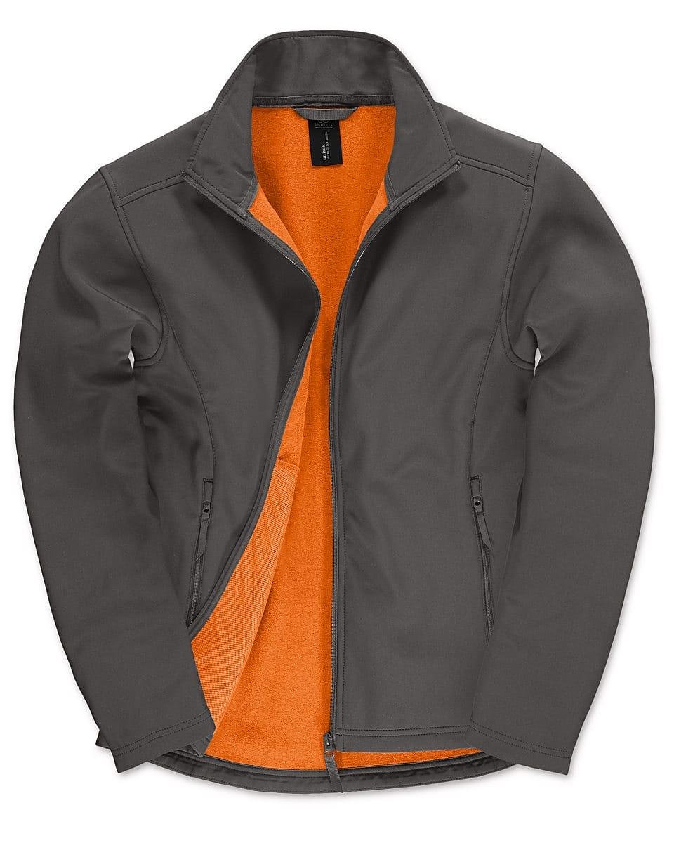 B&C Mens ID.701 Softshell Jacket in Dark Grey (Product Code: JUI62)