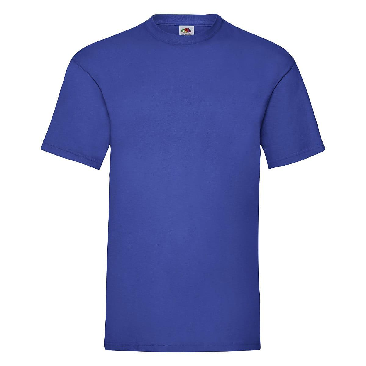 Fruit Of The Loom Valueweight T-Shirt in Royal Blue (Product Code: 61036)