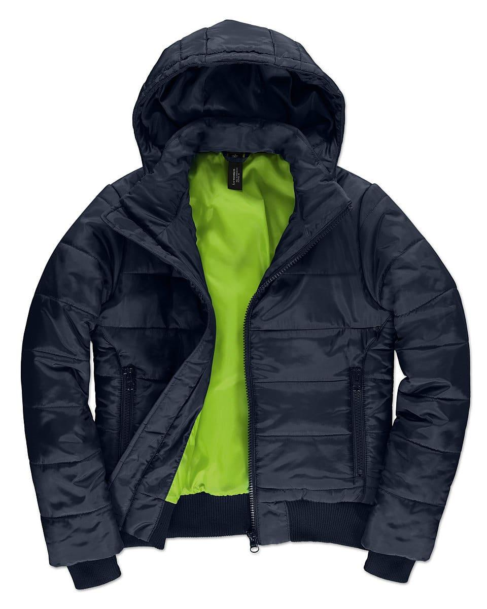 B&C Womens Superhood Jacket in Navy Blue (Product Code: JW941)