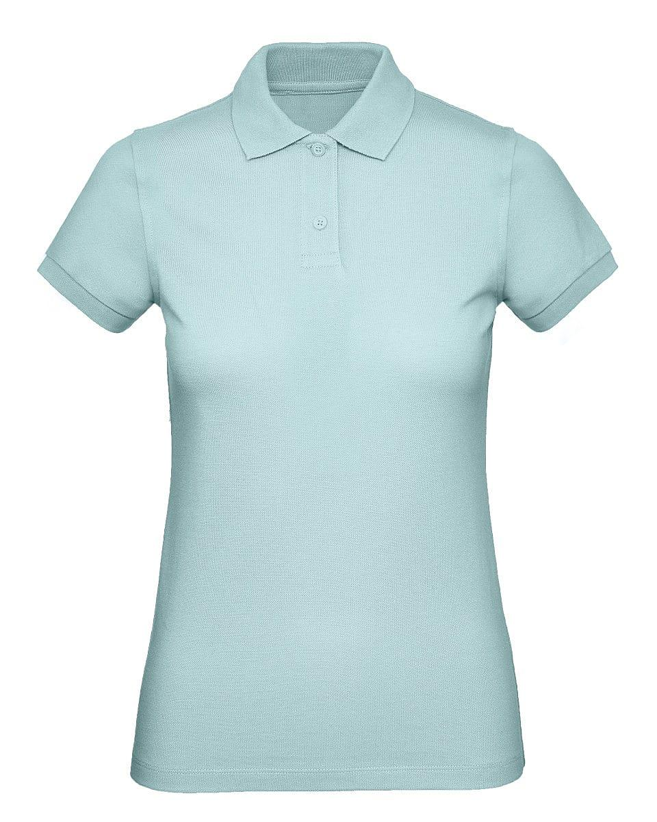 B&C Womens Inspire Polo Shirt in Millennial Mint (Product Code: PW440)