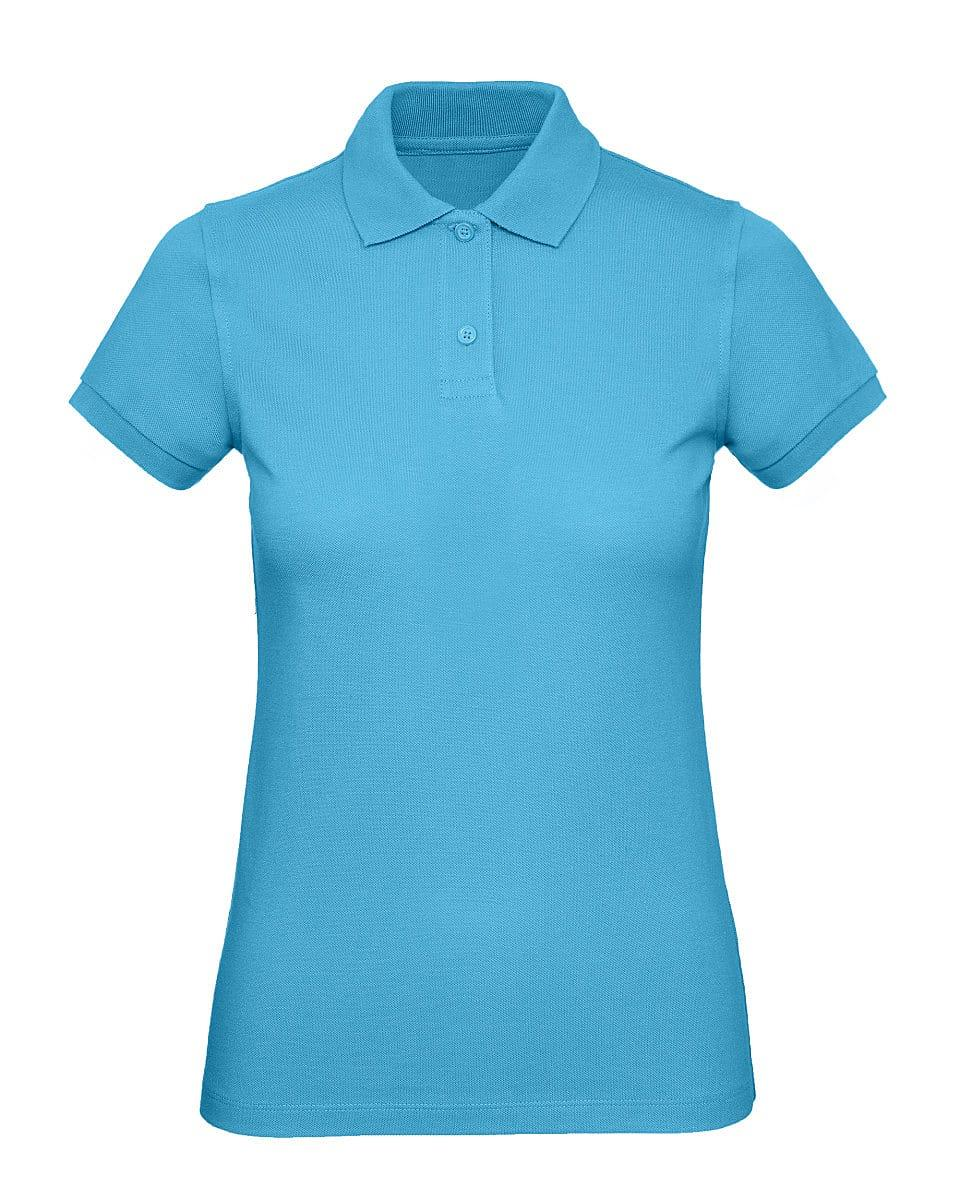 B&C Womens Inspire Polo Shirt in Very Turquoise (Product Code: PW440)