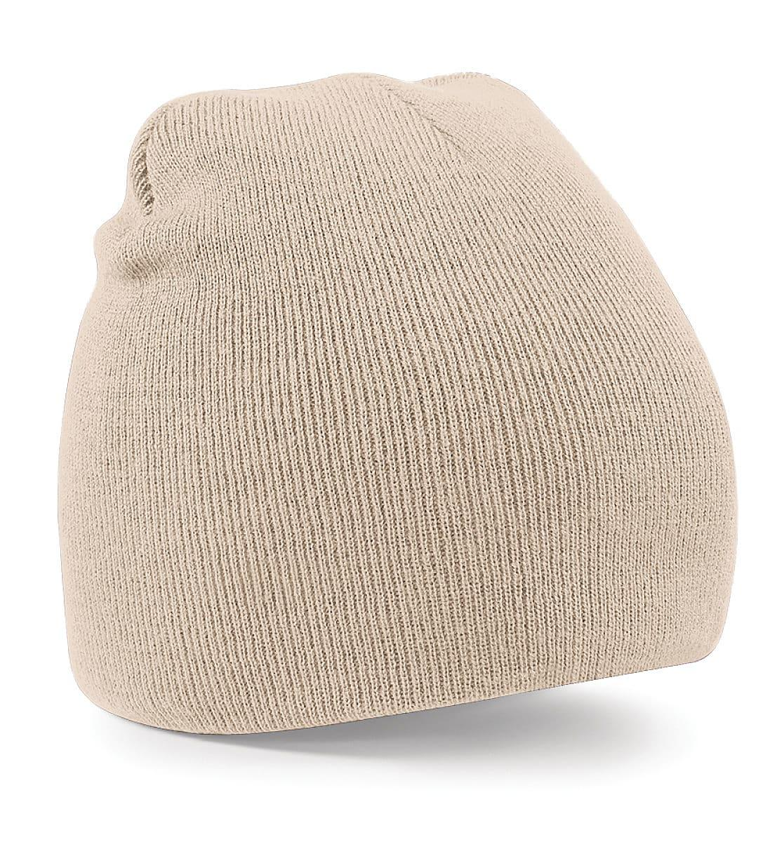 Beechfield Original Pull-On Beanie Hat in Stone (Product Code: B44)