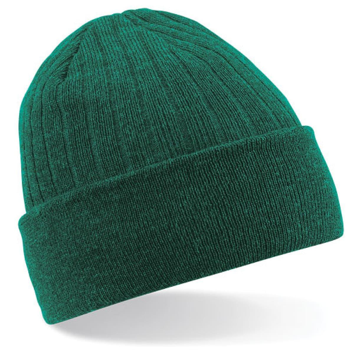 Beechfield Thinsulate Beanie Hat in Bottle Green (Product Code: B447)