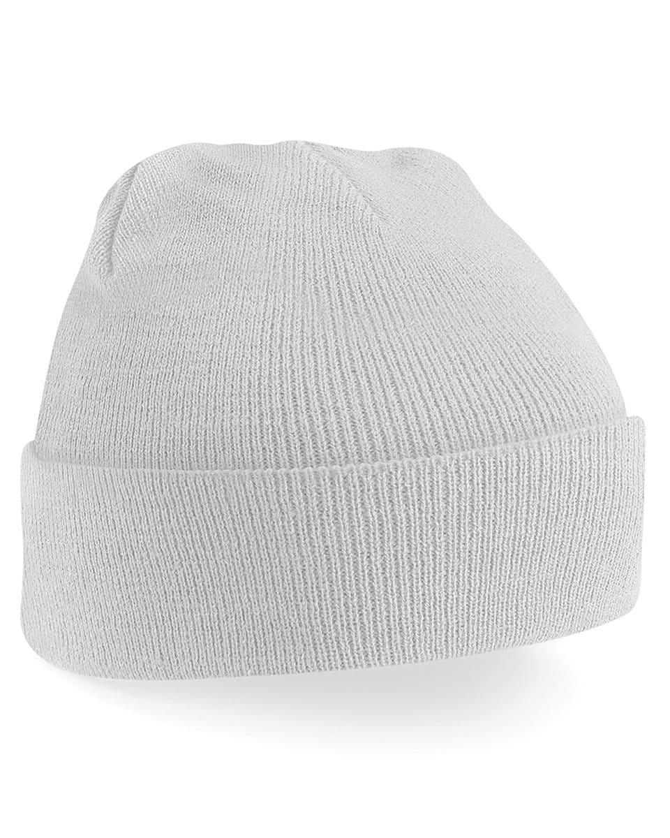 Beechfield Original Cuffed Beanie Hat in Light Grey (Product Code: B45)