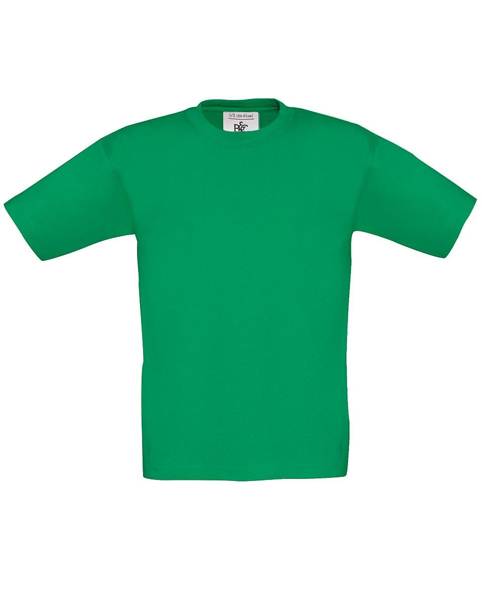 B&C Childrens Exact 150 T-Shirt in Kelly Green (Product Code: TK300)