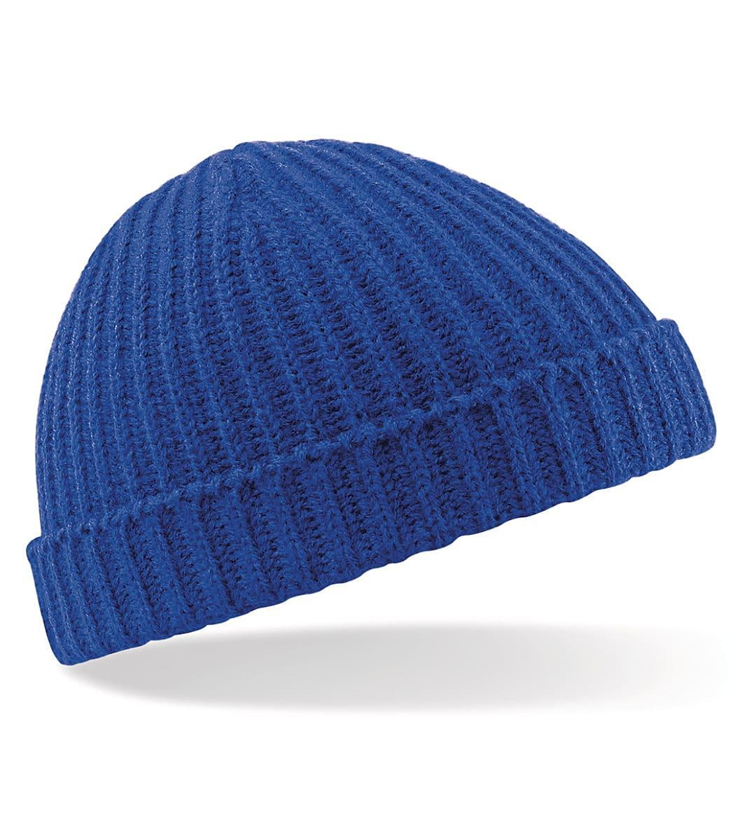 Beechfield Trawler Beanie Hat in Bright Royal (Product Code: B460)