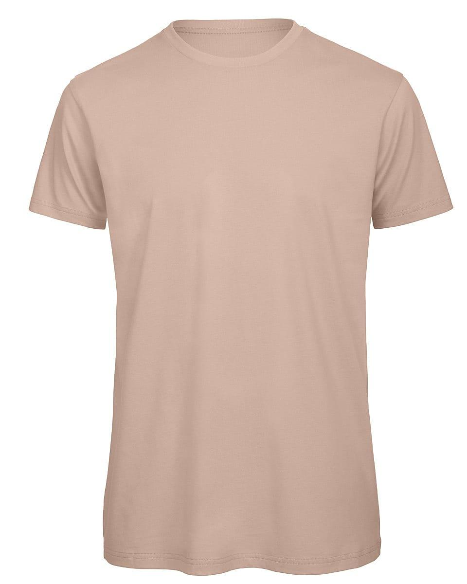 B&C Mens Inspire Crew T-Shirt in Millennial Pink (Product Code: TM042)