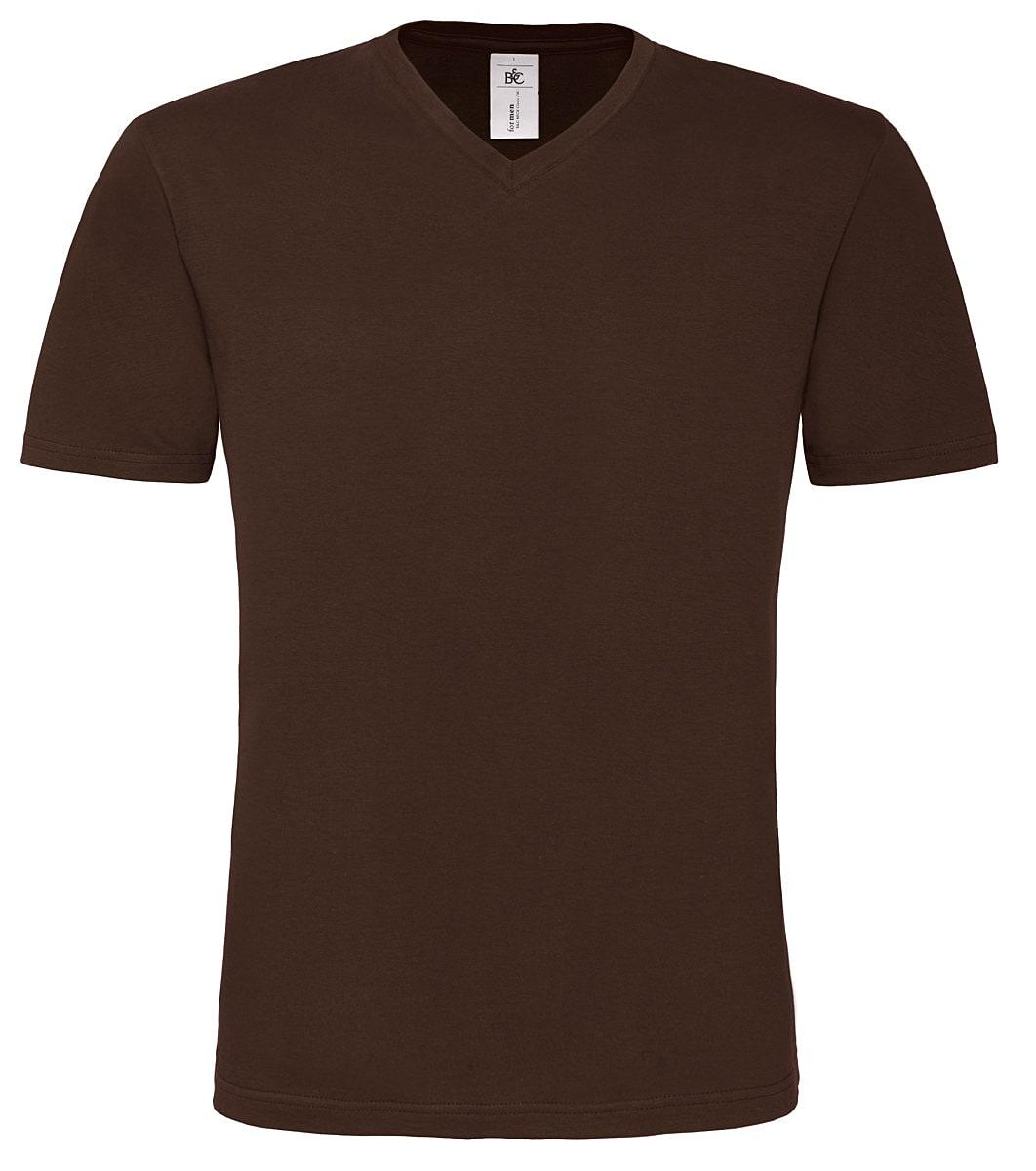 B&C Mens Mick Classic T-Shirt in Brown (Product Code: TM060)