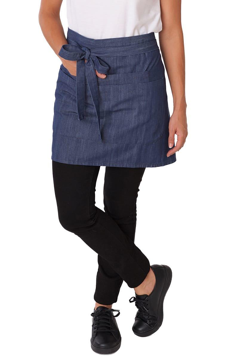 Dennys Denim Waist Apron with Pocket (Product Code: DP37DNM)