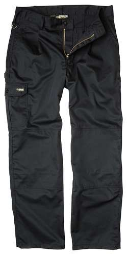 Apache Black Industry Cargo Trousers