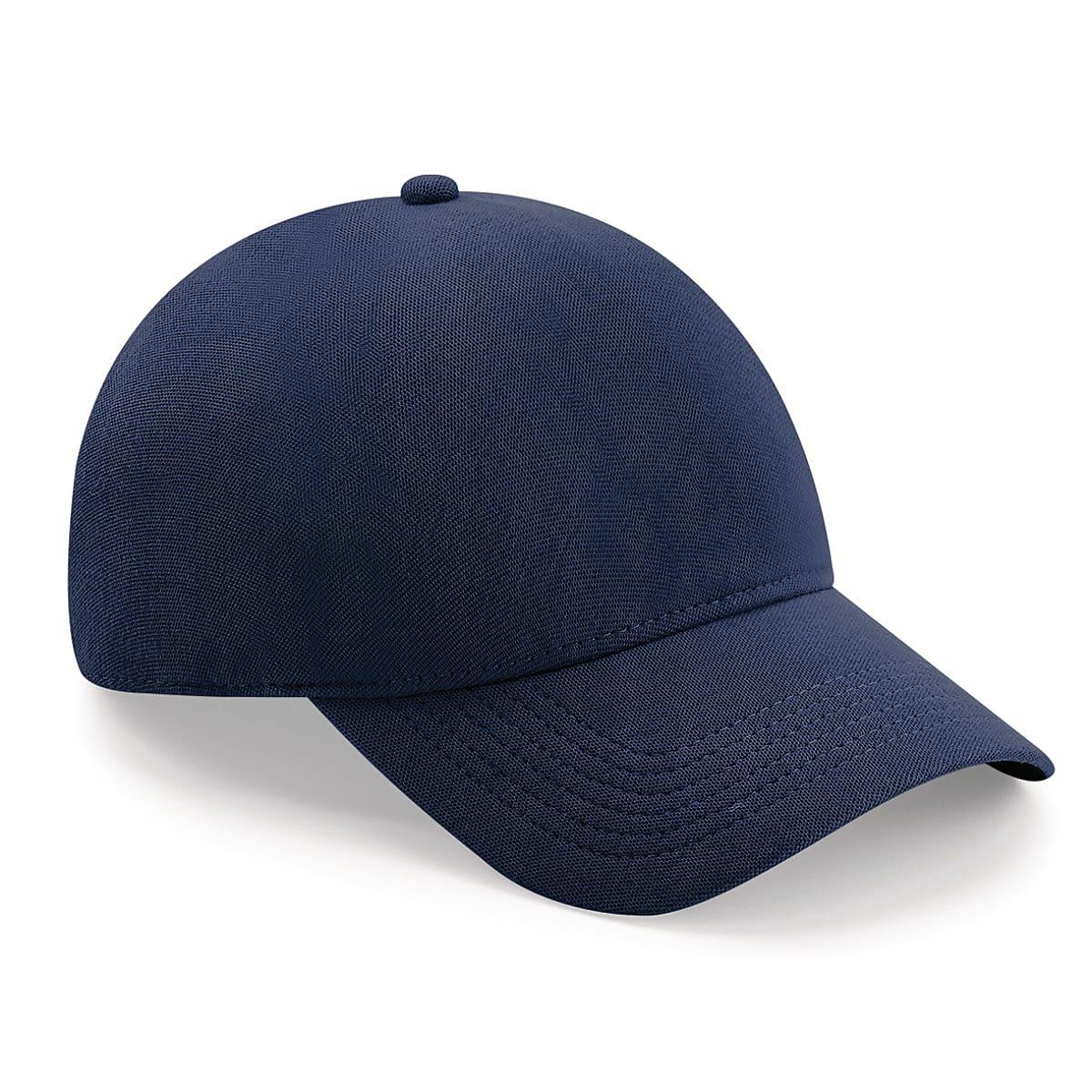 Beechfield Seamless Waterproof Cap in Navy Blue (Product Code: B550)