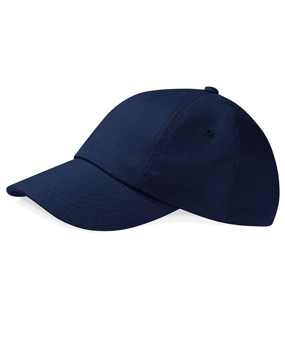 Beechfield Low Profile Heavy Drill Cap in French Navy (Product Code: B58)