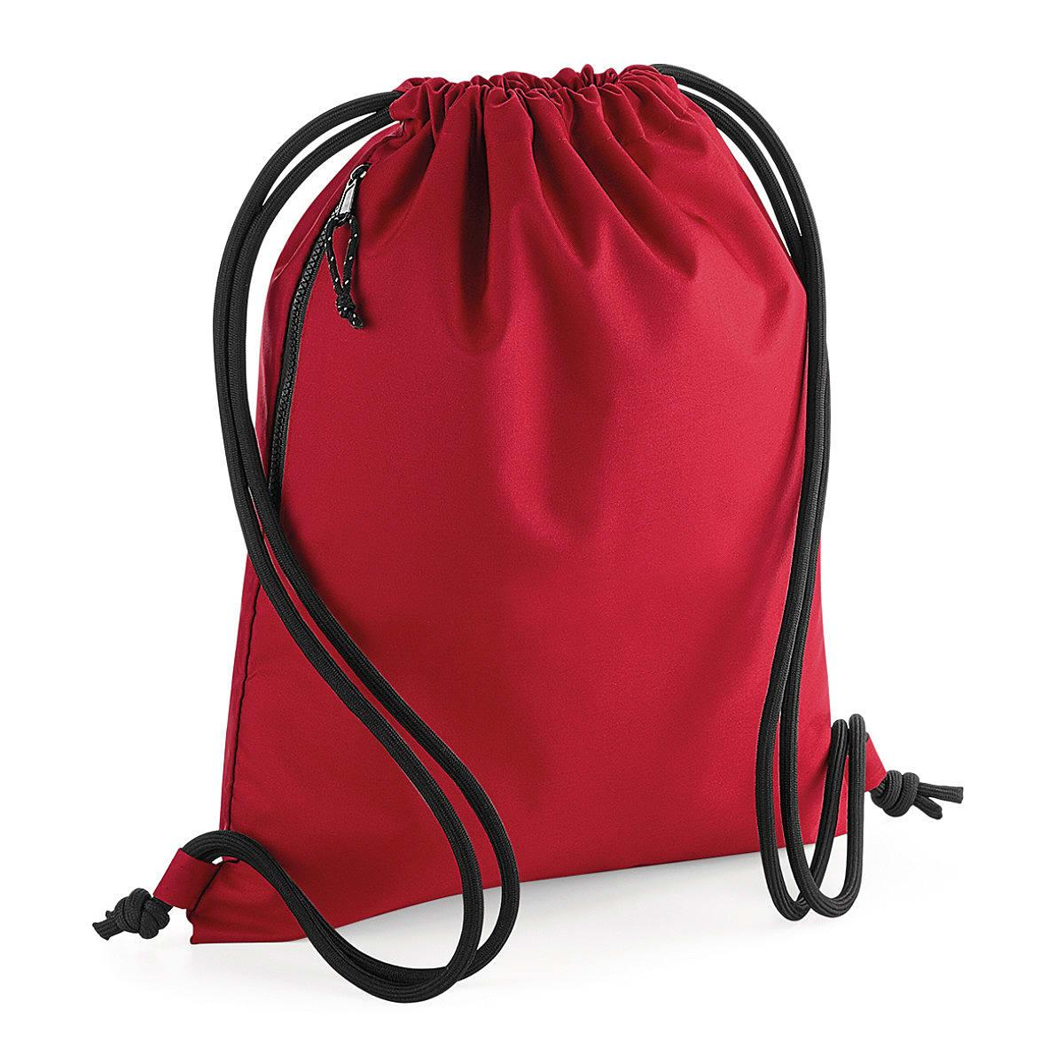 Bagbase Recycled Gymsac in Classic Red (Product Code: BG281)