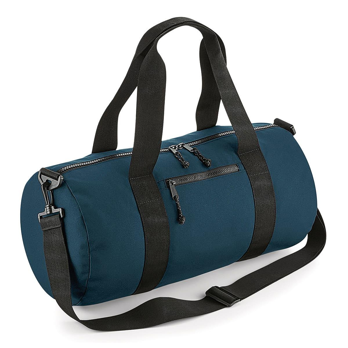 Bagbase Recycled Barrel Bag in Petrol (Product Code: BG284)