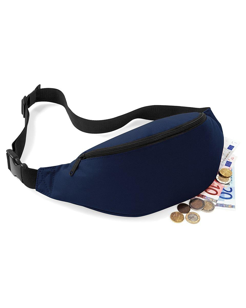 Bagbase Belt Bag in French Navy (Product Code: BG42)