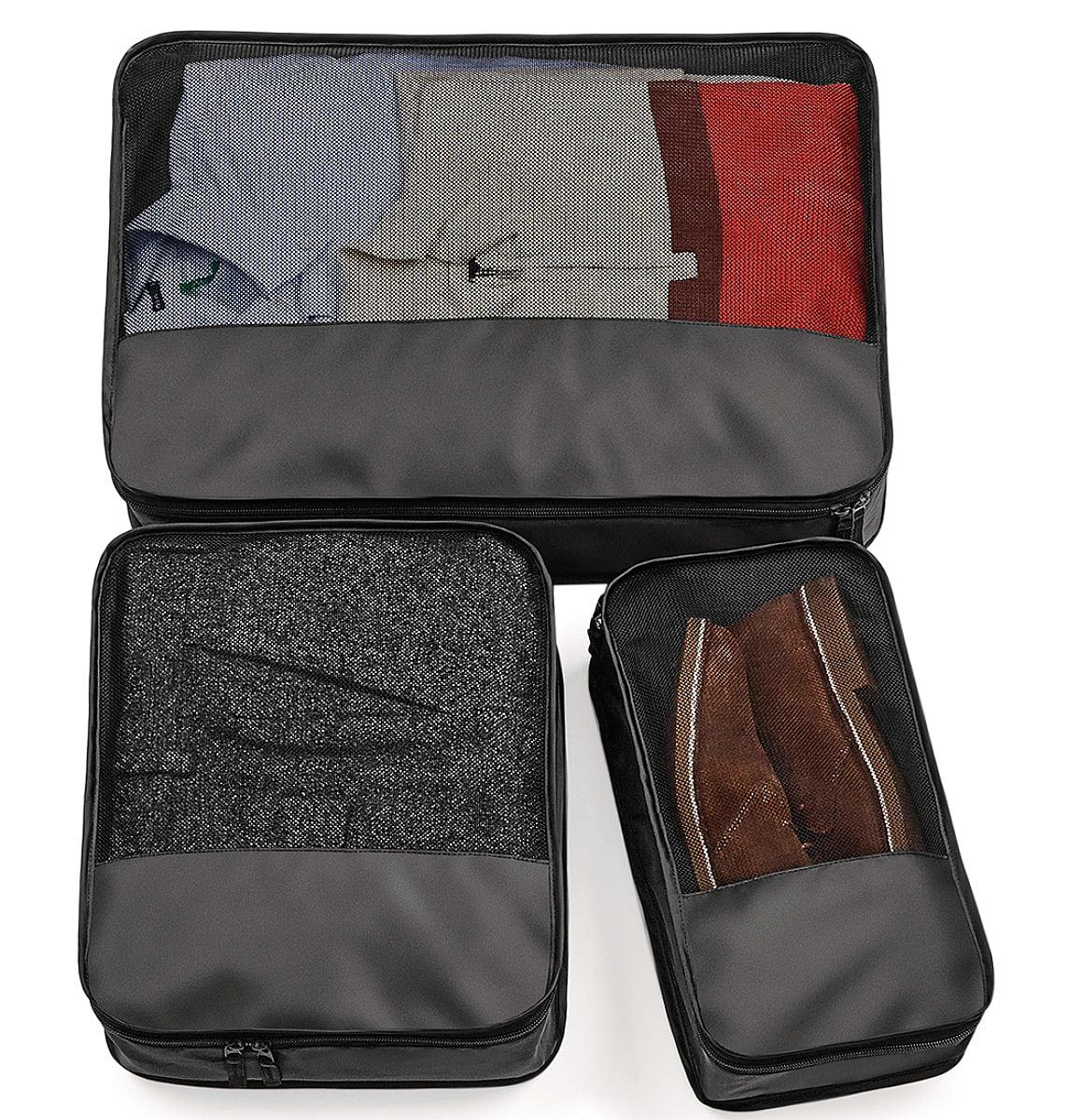 Bagbase Escape Packing Cube Set in Black (Product Code: BG459)