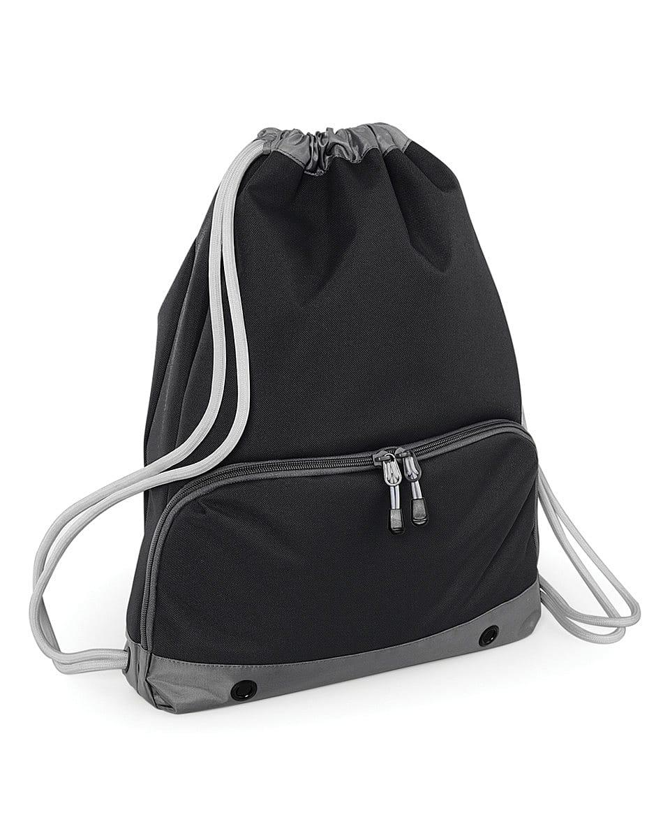 Bagbase Athleisure Gymsac in Black (Product Code: BG542)