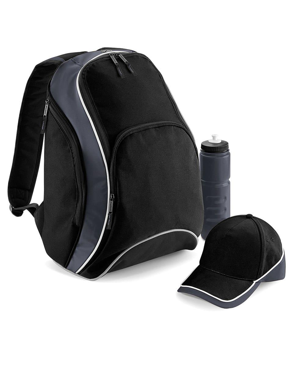 Bagbase Teamwear Backpack in Black / Grey / White (Product Code: BG571)