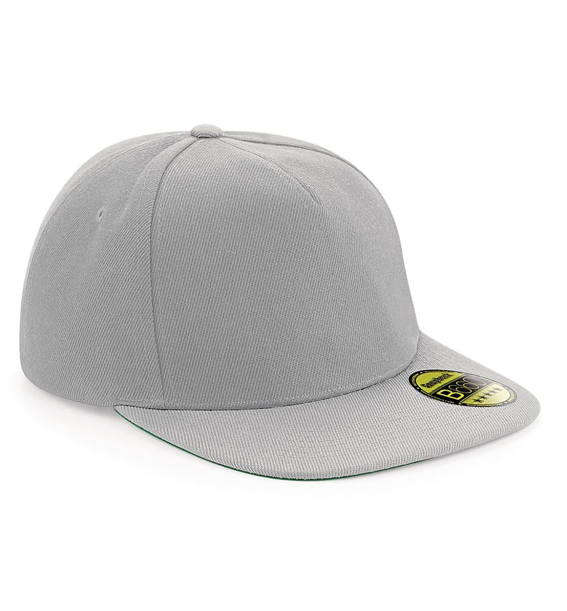 Beechfield Original Flat Peak Snapback in Grey (Product Code: B660)
