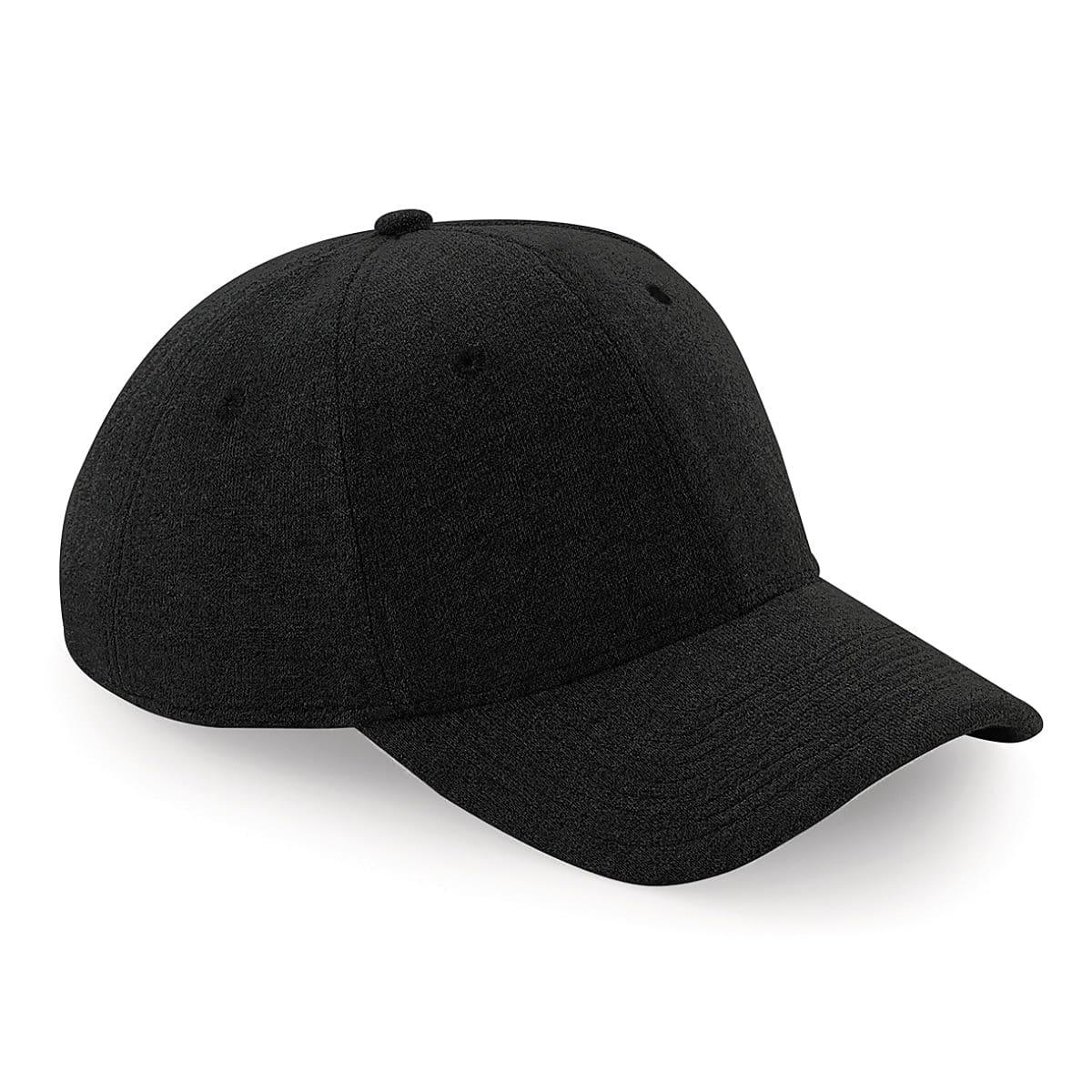 Beechfield Jersey Athleisure Cap in Black (Product Code: B677)